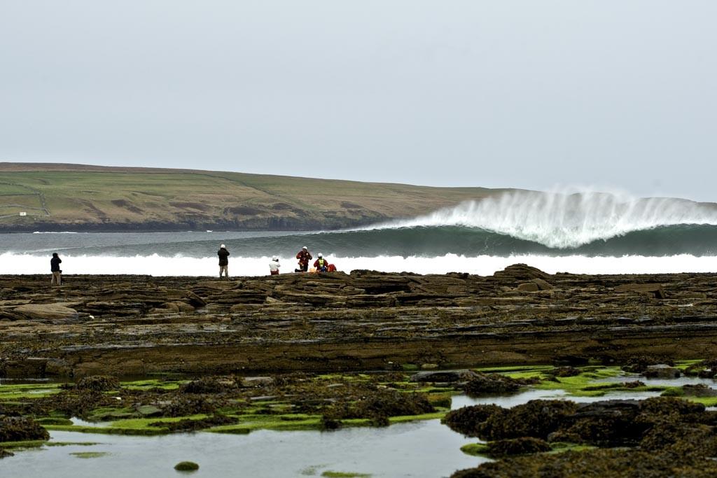 Escocia, paraíso europeo de olas