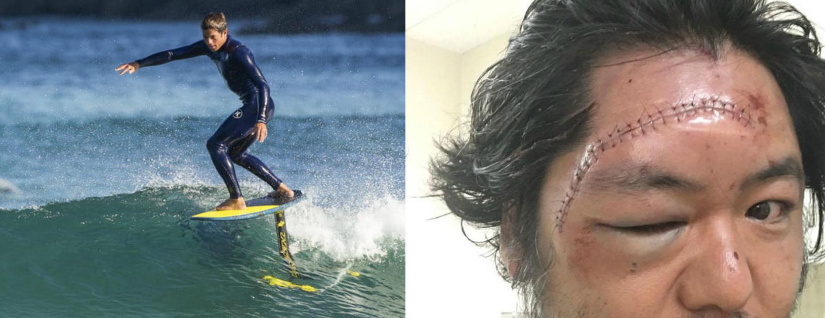 Prohiben el hydrofoil en playas de Anglet