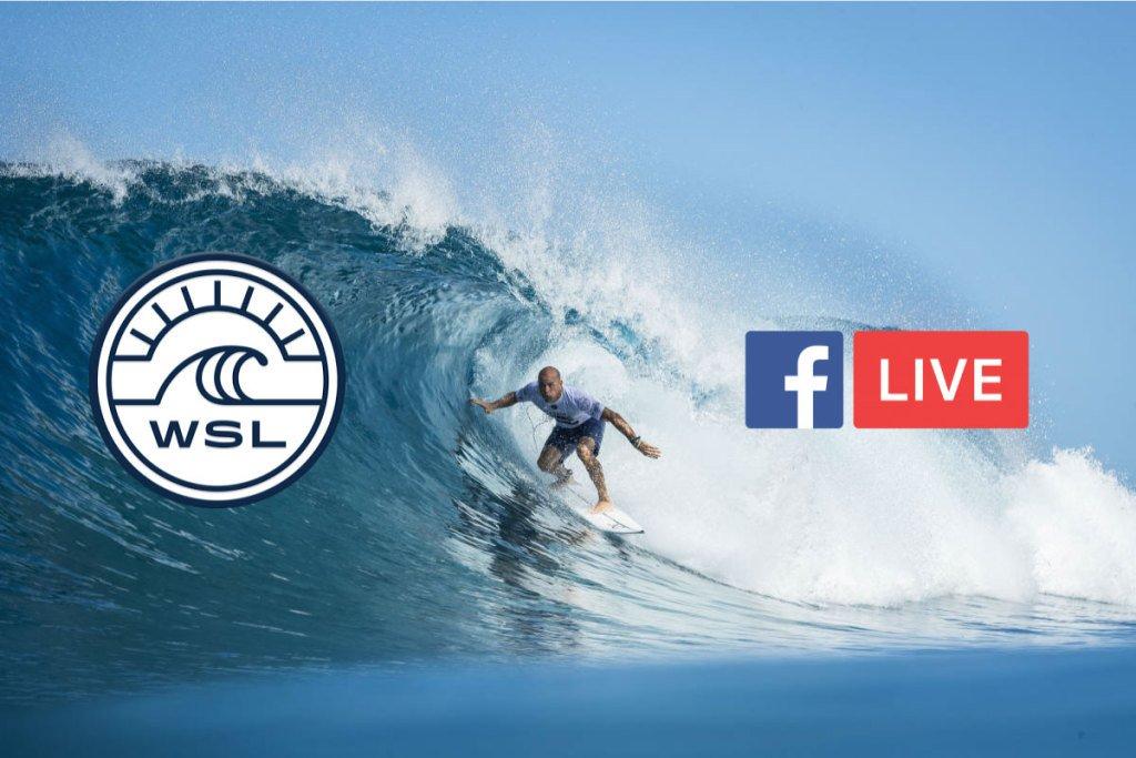 Facebook promete revolucionar las transmisiones en vivo de la WSL