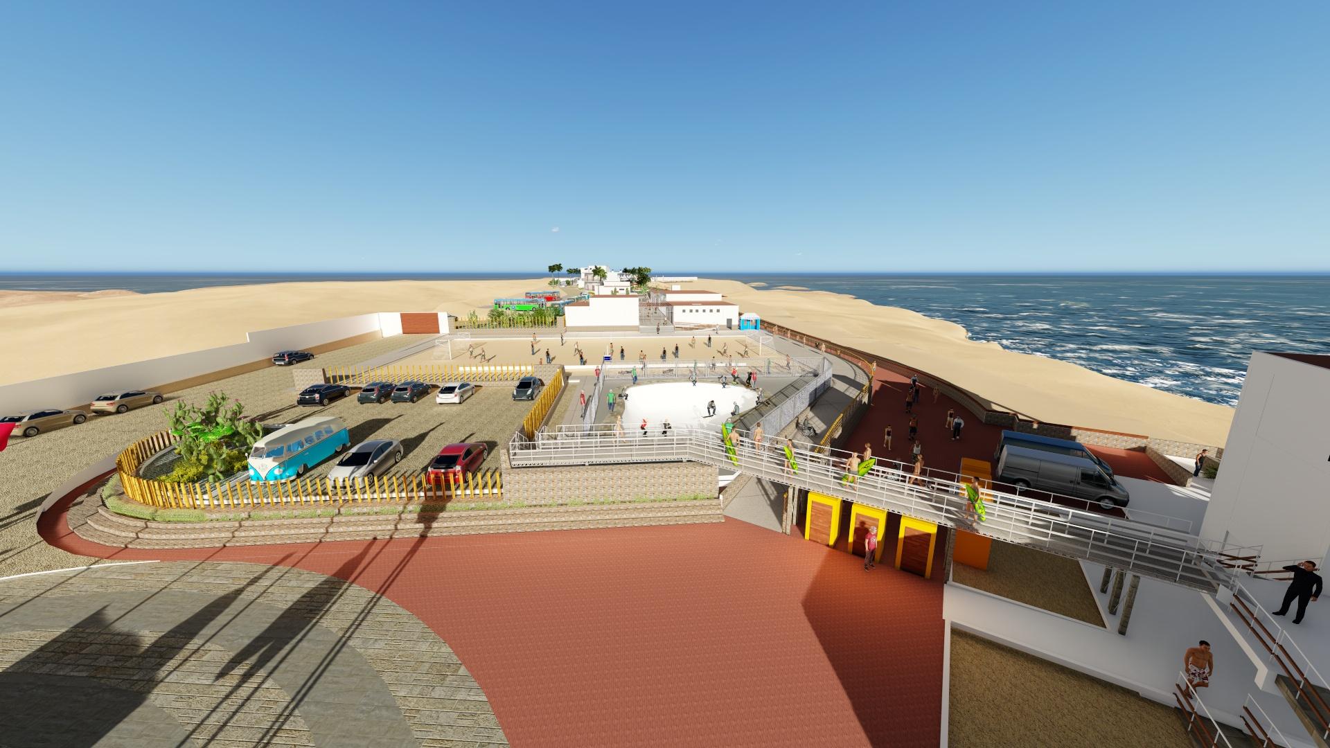 Se inició la convocatoria para la buena pro del Centro de Alto Rendimiento del Surf