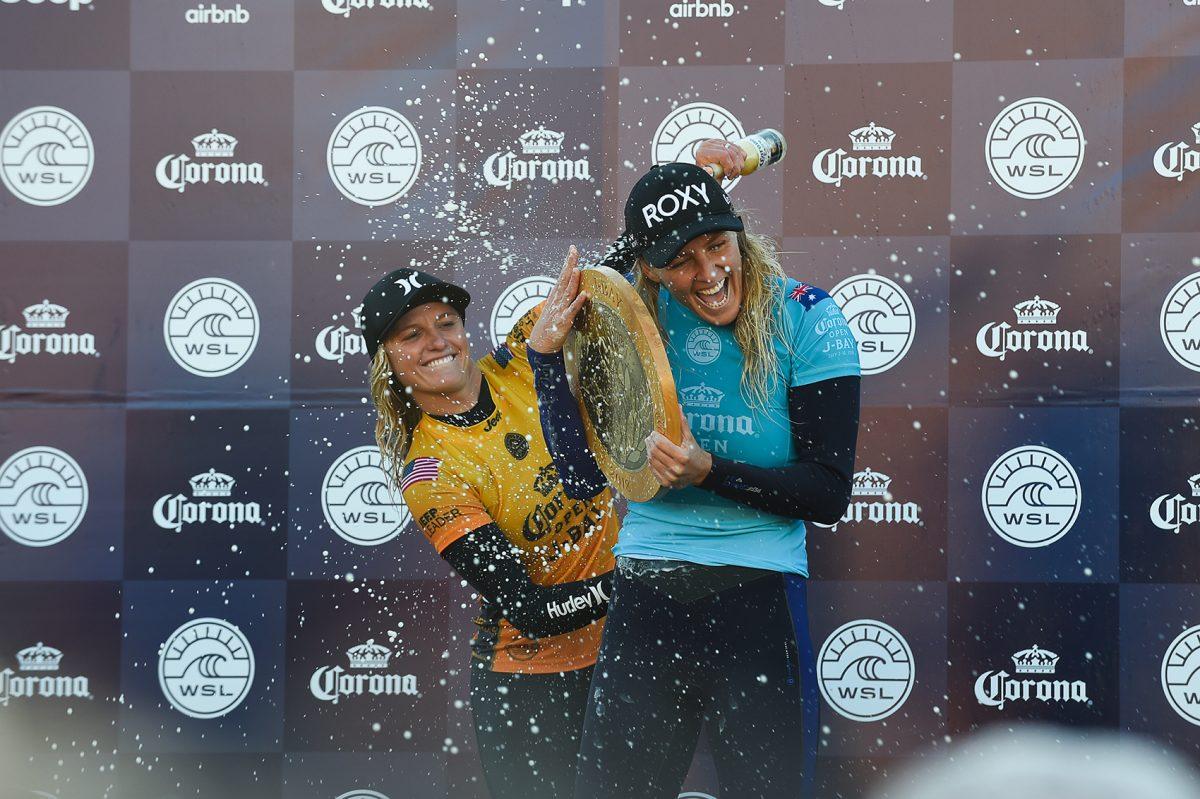 Corona JBay Open: Stephanie Gilmore se impuso en Sudáfrica
