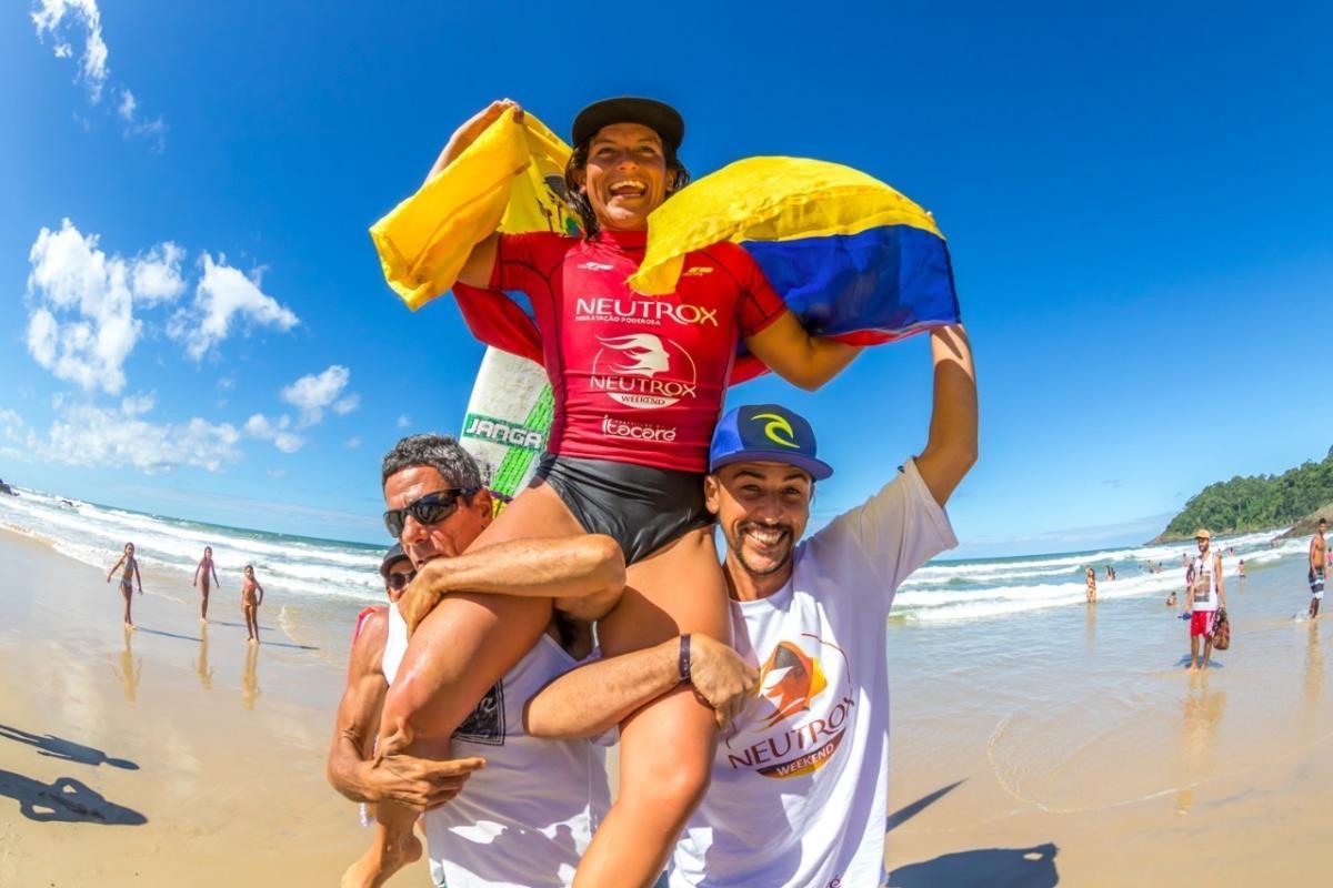 Dominic Barona imparable en Brasil