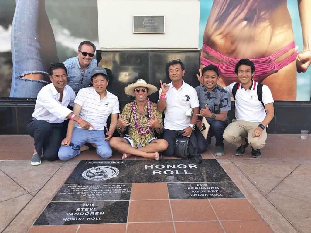 La ISA da la bienvenida a la delegación de Tokio 2020 a California