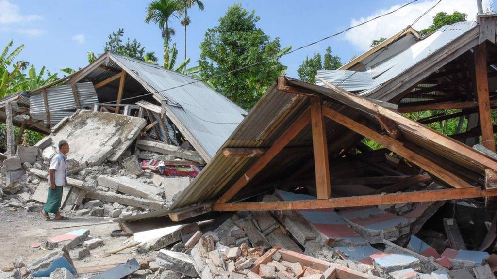 Indonesia: Terremoto de magnitud 7 deja muertos y heridos en las islas de Lombok y Bali