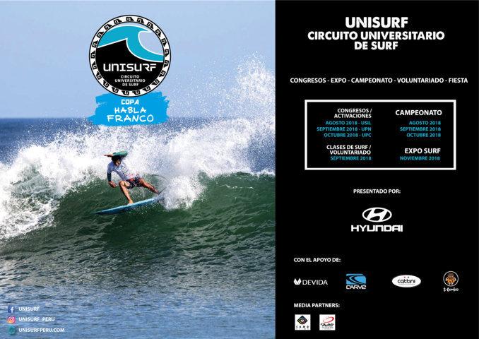 Universidades unidas a través del deporte: Bienvenidos al 1er Circuito Universitario de Surf