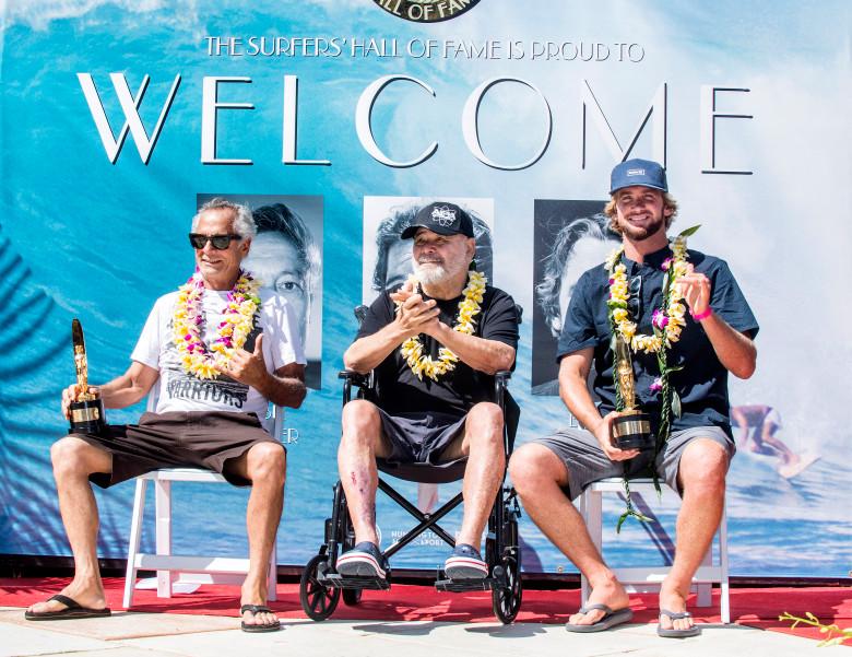 El salón de la Fama del Surf da la bienvenida a Ben Aipa, Herbie Fletcher y Brett Simpson