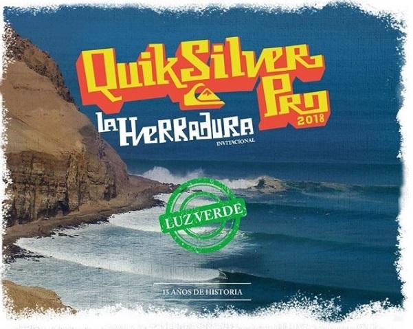 El Quiksilver Pro La Herradura va pare este 14 de agosto