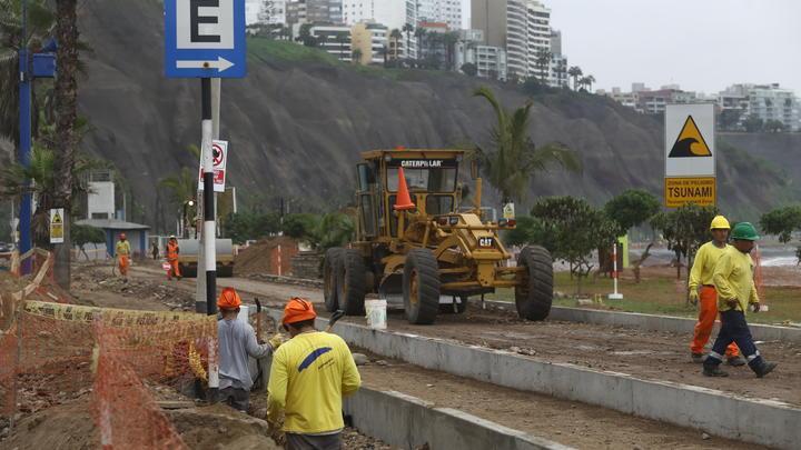 """Paralizan obras del """"Nuevo Malecón"""" de playa Redondo"""