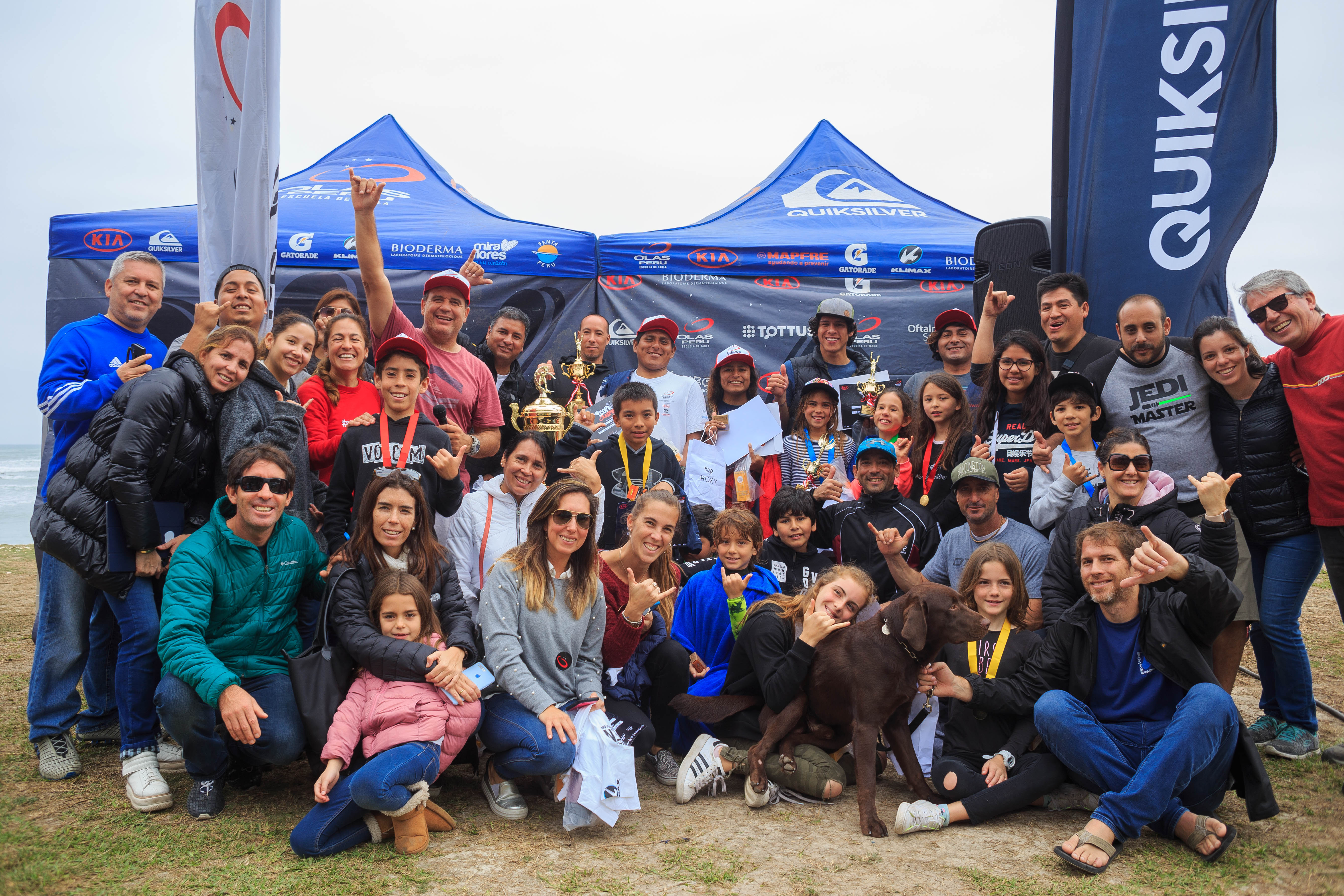 Copa Olas Perú: Resultados campeonato interno de surf
