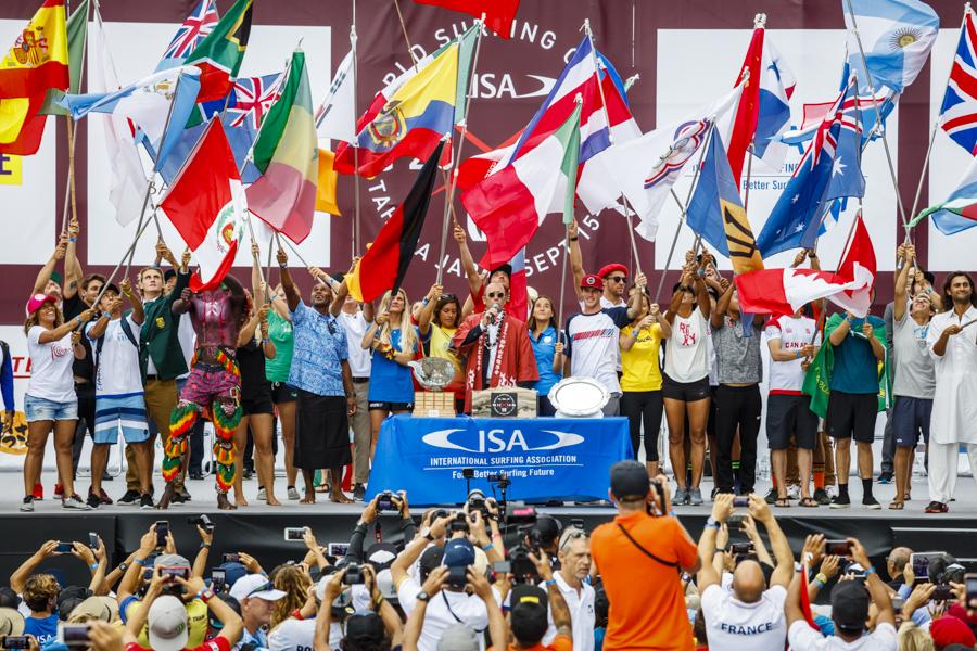 Series de los peruanos en el Mundial ISA de Japón 2018