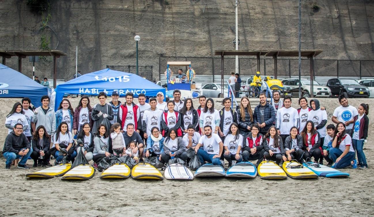 UNISURF: Universidades se unieron por el Día Mundial de Limpieza de Playas