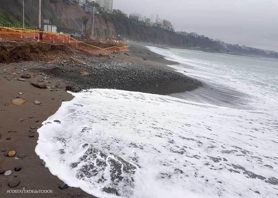 Costa Verde: Reúnen firmas de congresistas en contra del Nuevo Malecón