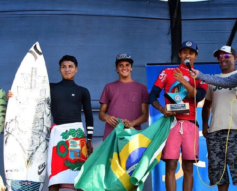 Jhonny Guerrero subcampeón sudamericano Junior WSL