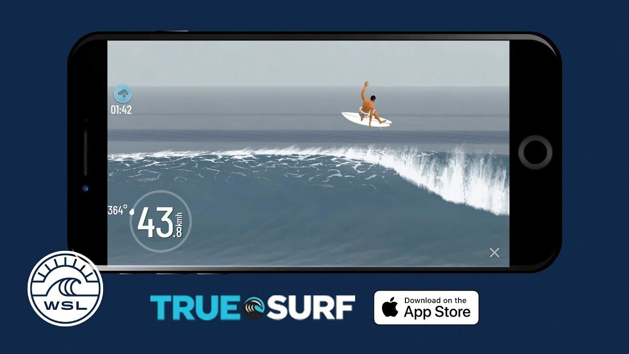 """""""True Surf"""", el videojuego de la WSL y Surfline"""