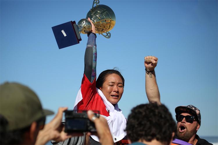 Japón se mete a la historia del bodyboard con su primera campeona mundial