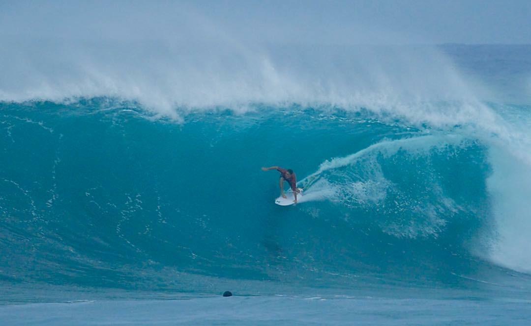 Portada: Alonso Correa empieza así su temporada en Hawaii