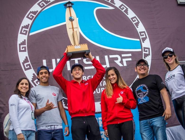 Ellos son los campeones del 1er Circuito Universitario de Surf