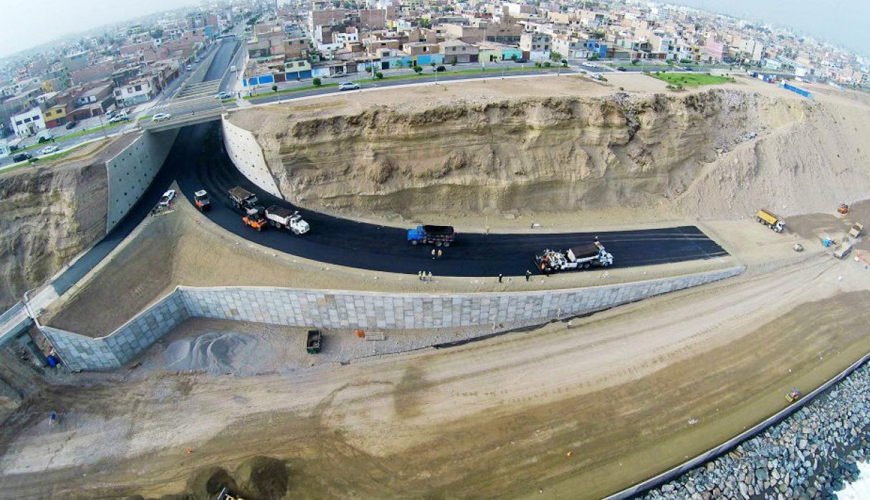 Se reinician obras para la culminación de la Costa Verde del Callao