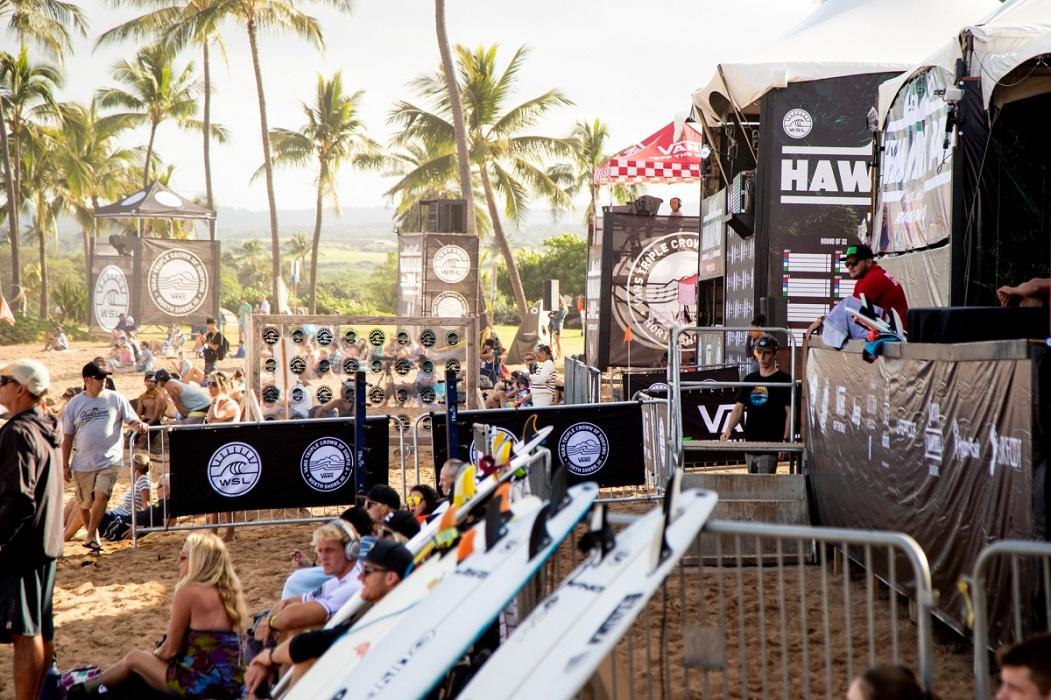 Así empezó la Ronda 1 del Hawaiian Pro