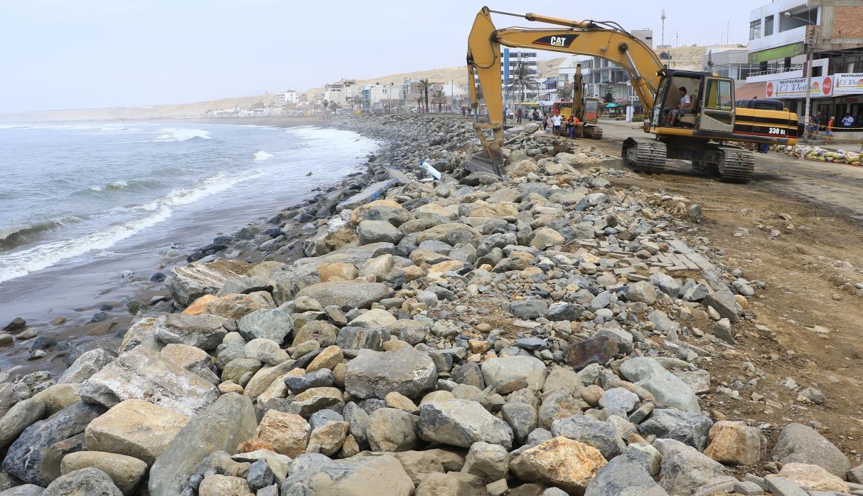 Construirán espigónes para recuperar playas de Trujillo