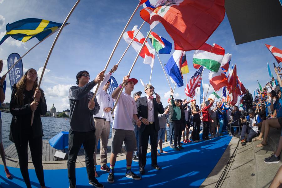 Empezó el mundial SUP y Paddleboard ISA 2018