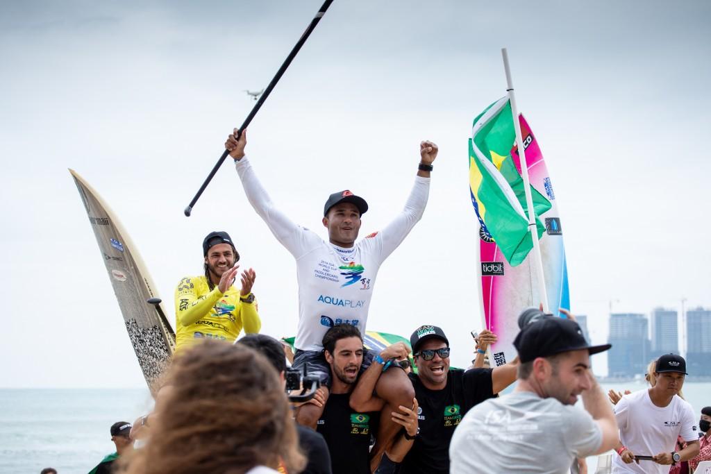 Brasil y Australia los primeros campeones del Mundial SUP de la ISA