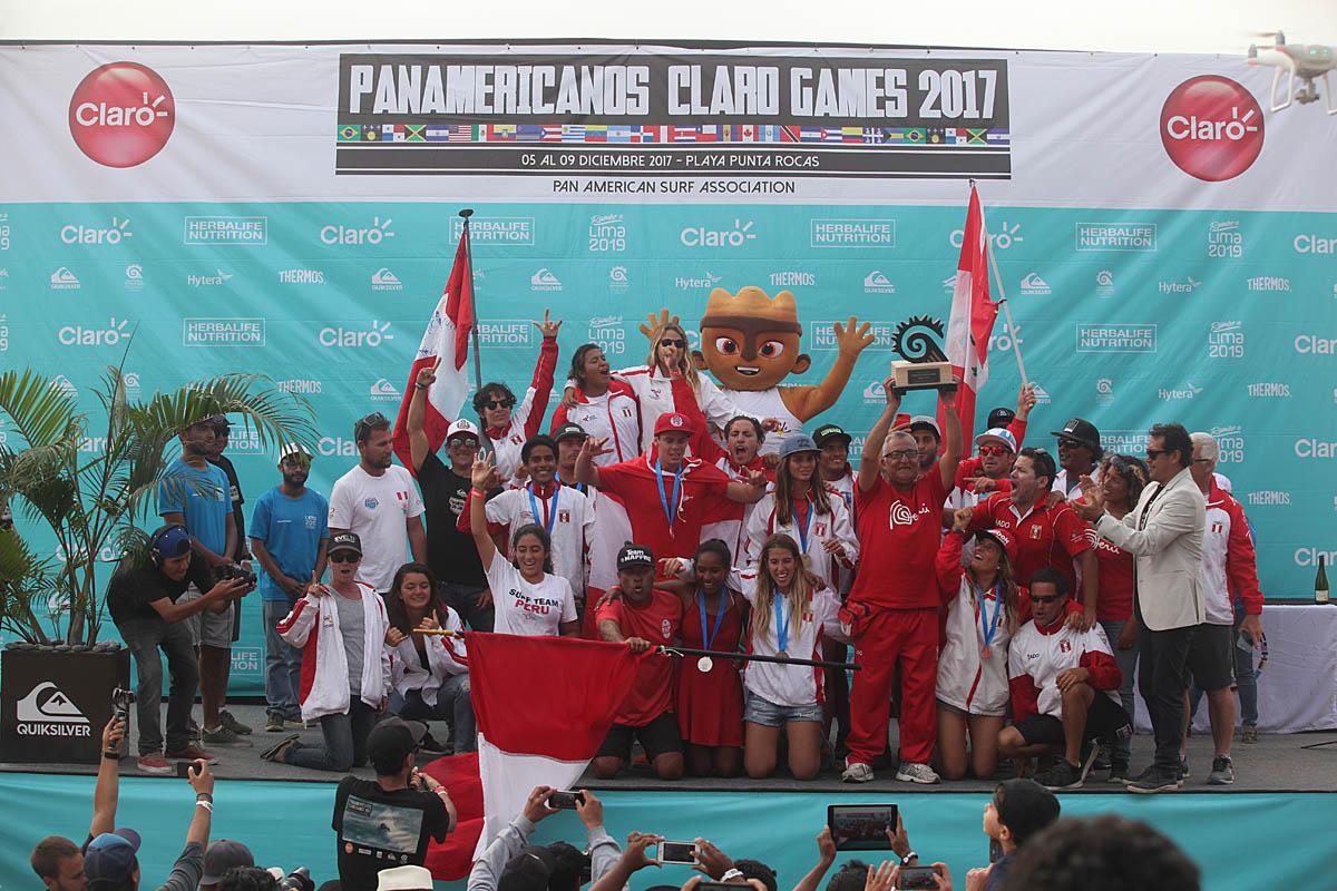 Tablistas de América llegan a Punta Rocas por el boleto a Lima 2019