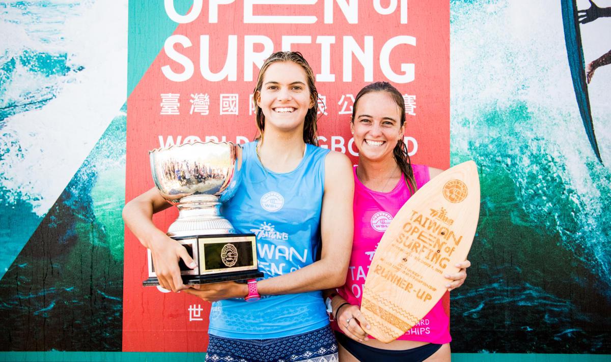 Surfista de 17 años es la nueva campeona Mundial de Longboard