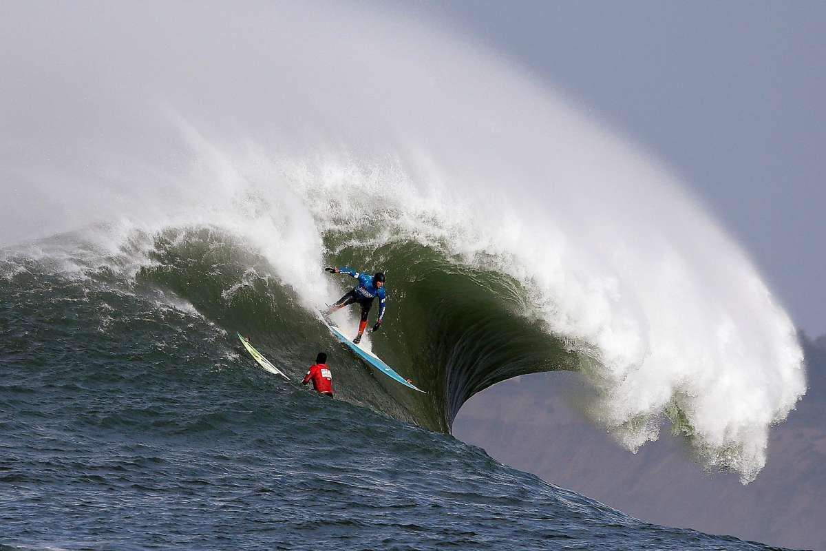 Big Wave Tour: Mavericks Challenge a la expectativa para este lunes