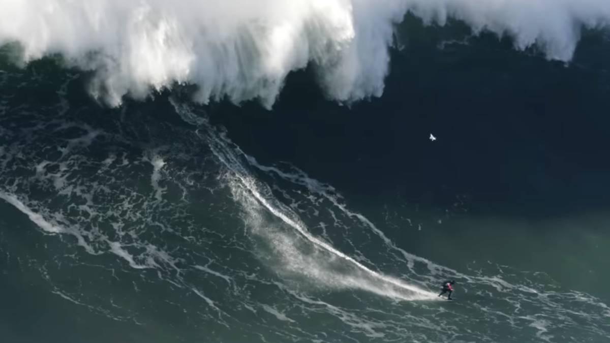 """¡30 metros! Surfista inglés Tom Butler podría conquistar la """"ola más grande de la historia"""" en el récord mundial"""