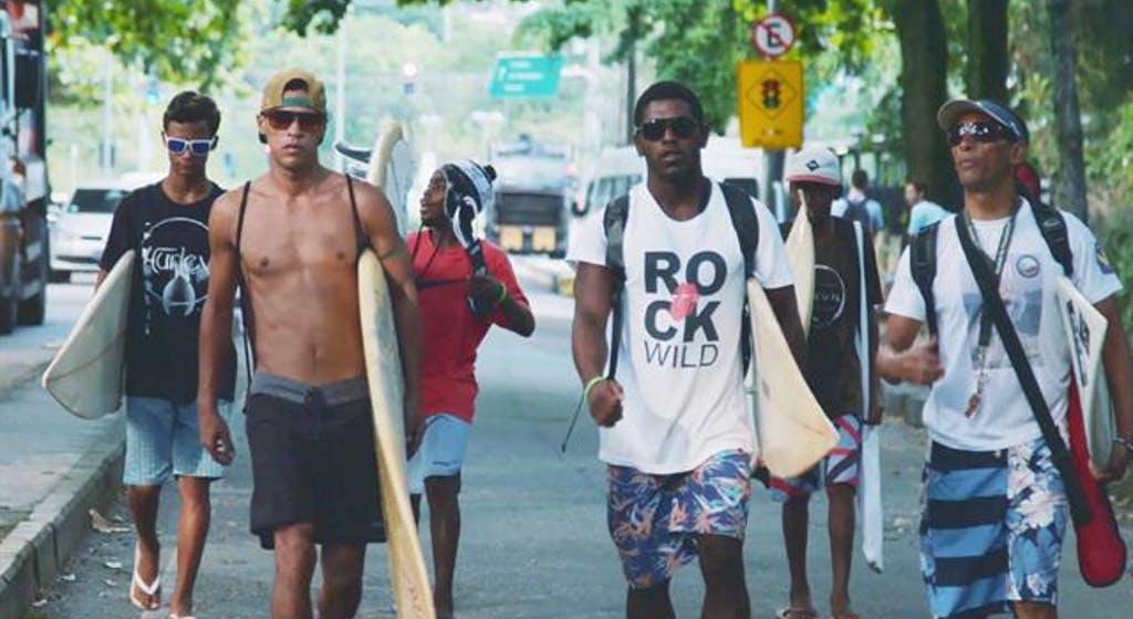 Favela y surf