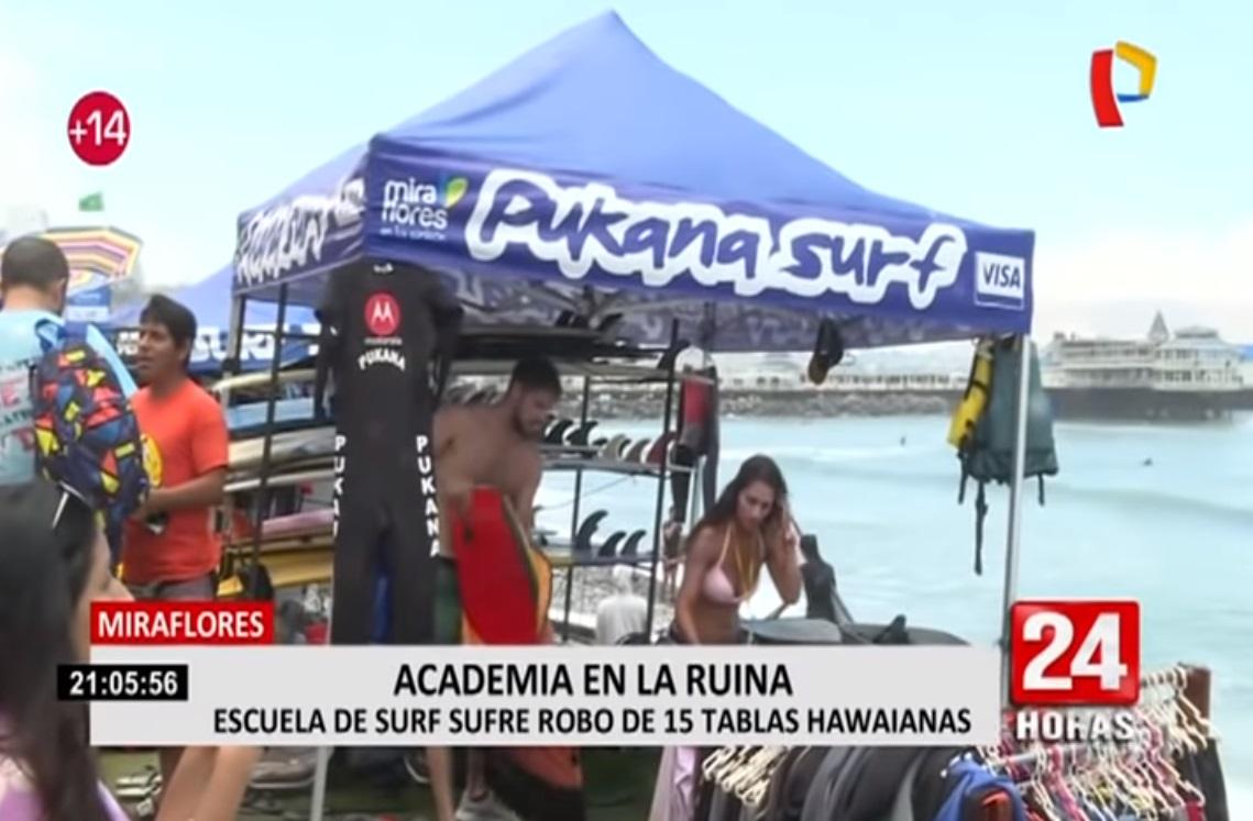 Costa Verde: Escuela de surf sufre el robo de más de 15 tablas