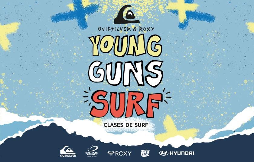 Young Guns Surf: Un día de surf y reciclaje con Quiksilver y Hyundai