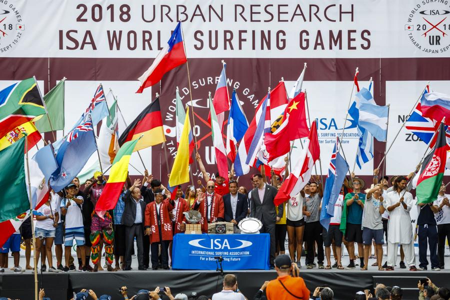 ISA y NBC firman acuerdo por tres años para la transmisión de torneos mundiales