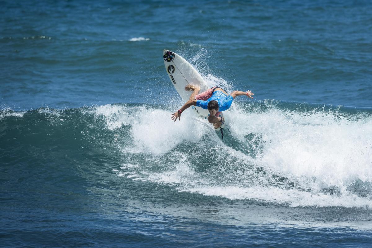 9no puesto para Adrián García en QS de Sunset Beach
