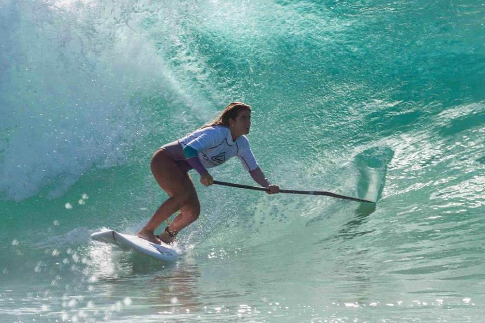 Brissa Málaga ganó competencia internacional de paddle surf en Australia