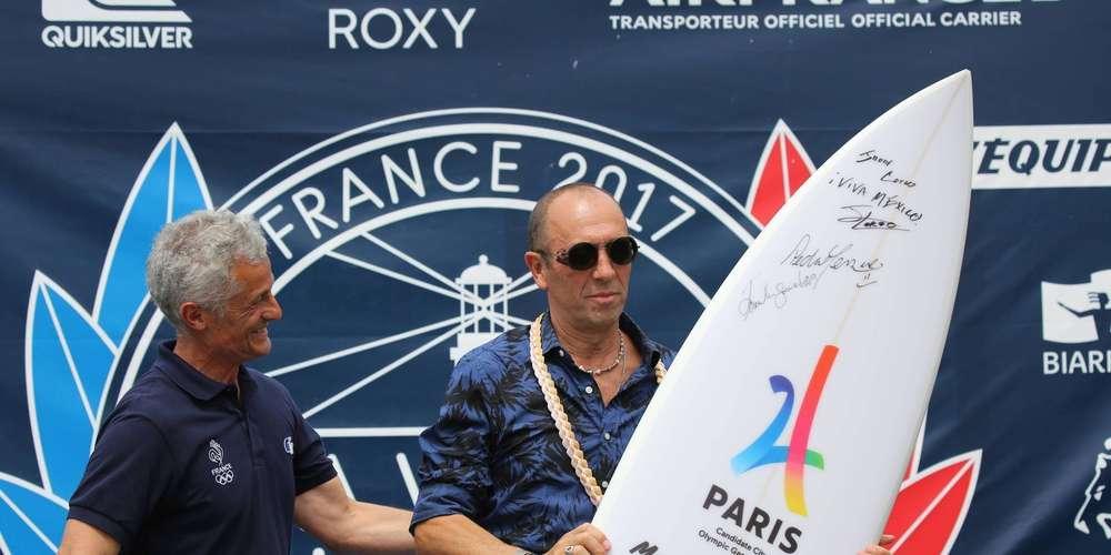 París 2024 quiere surfear en los Juegos Olímpicos