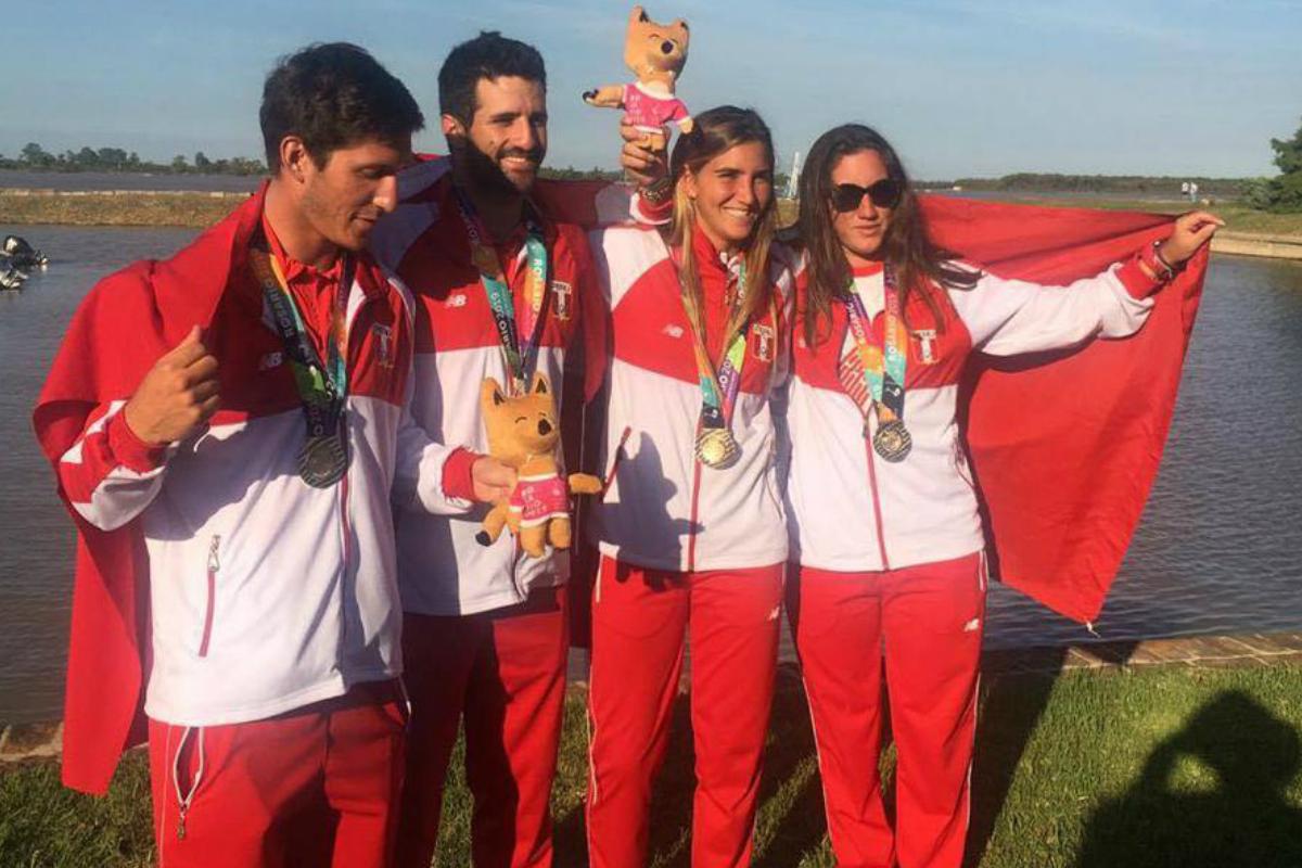 Perú consigue 13 medallas de oro en los Juegos Suramericanos de Playa 2019