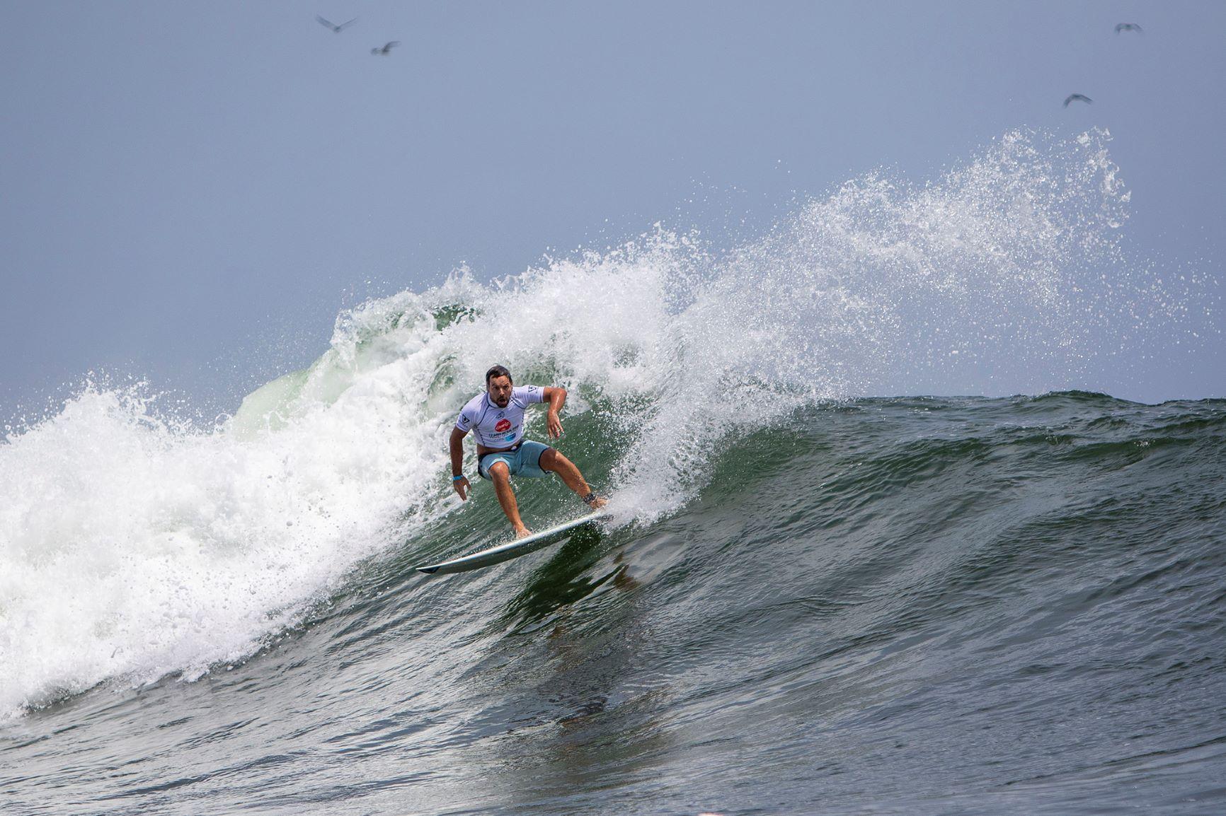 Arrancó el Mundial de surf en Punta Hermosa