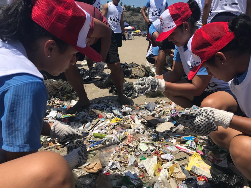Campaña HAZla por tu playa ya recolectó casi 150 toneladas de residuos