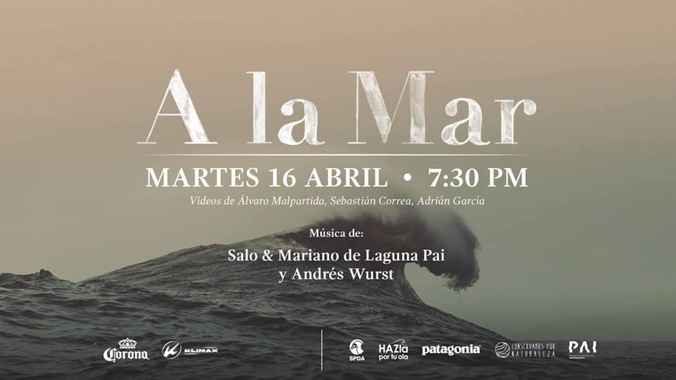 """""""A La Mar"""", este martes 16 de abril en Klimax Surfboards"""