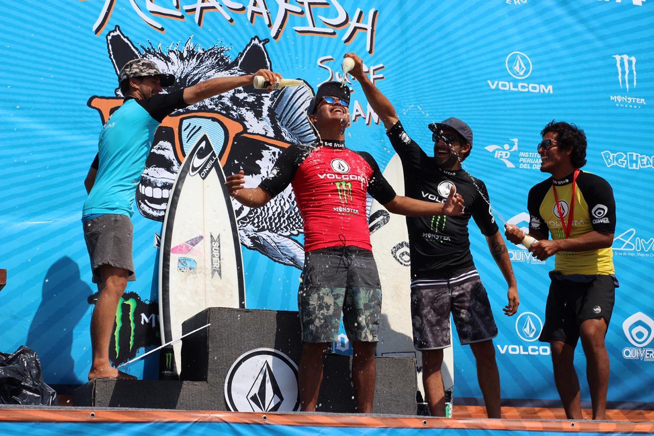 Lara Barrios y Junhino Urcia se llevaron el triunfo en la 1era fecha del Circuito Nacional Open de Surf – Volcom Alpacafish 2019