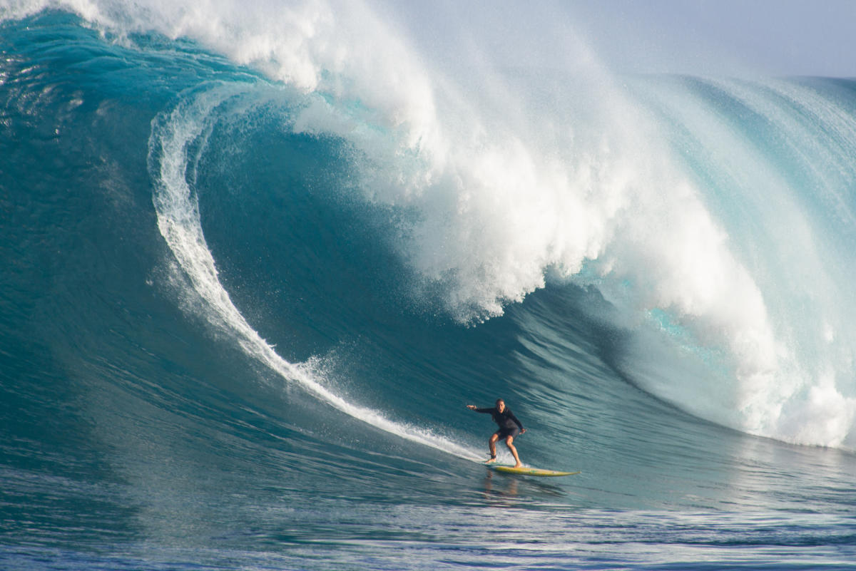 Big Wave Awards: Andrea Moller establece el récord Guinness con este olón en Maui
