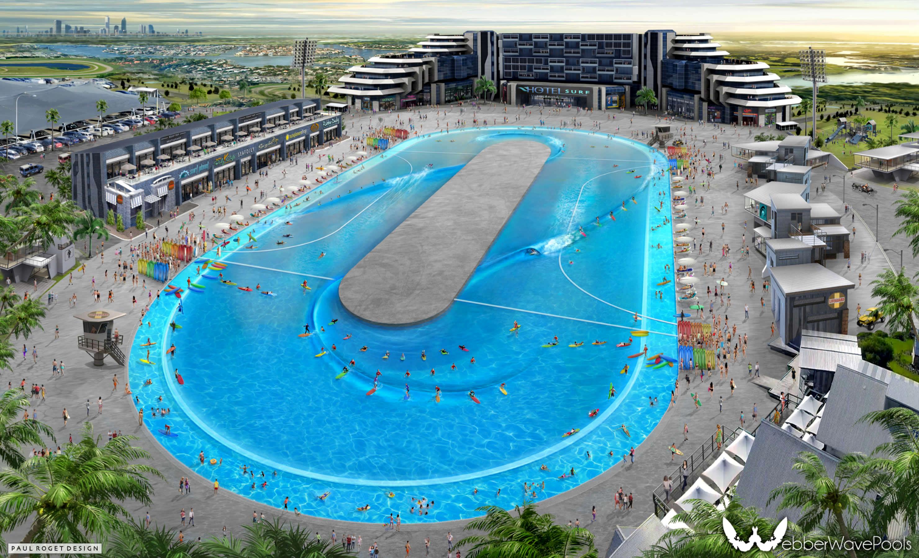 Inglaterra invertirá millones de dólares en piscina de olas impulsado por Surf Lakes