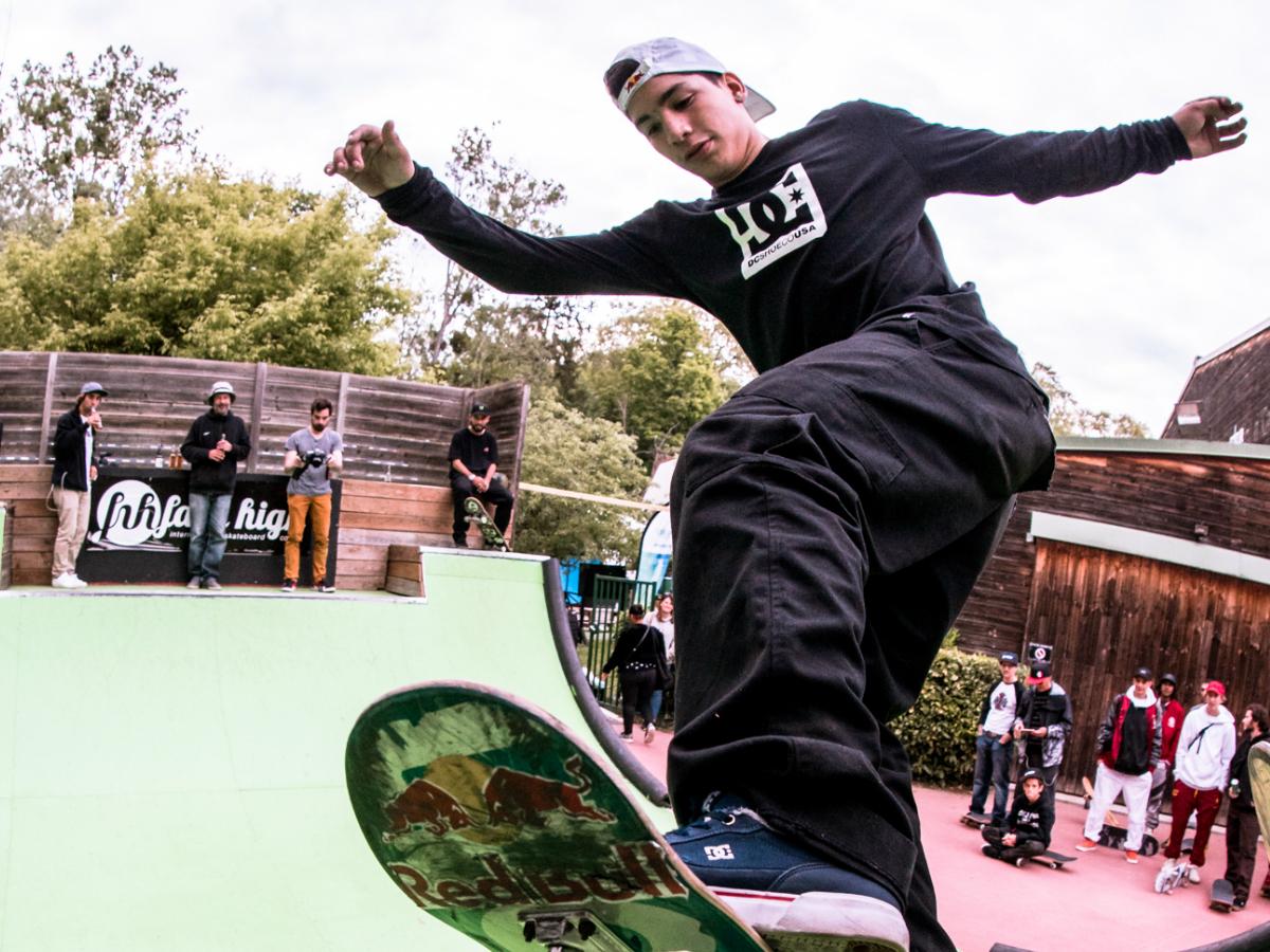 Skate: Angelo Caro es tercero en Francia