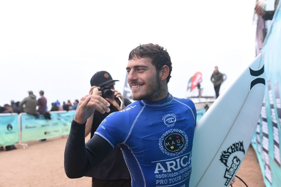 Alonso Correa subcampeón en El Gringo