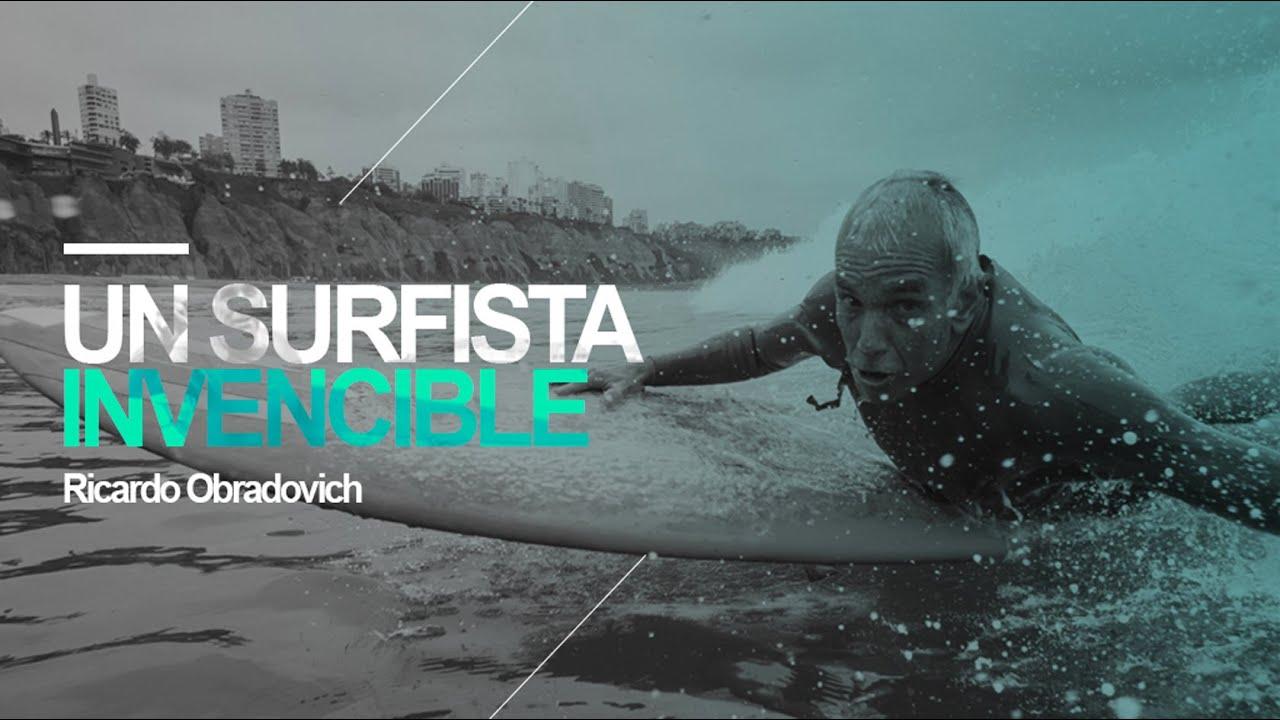 Un surfista invencible: Ricardo Obradovich