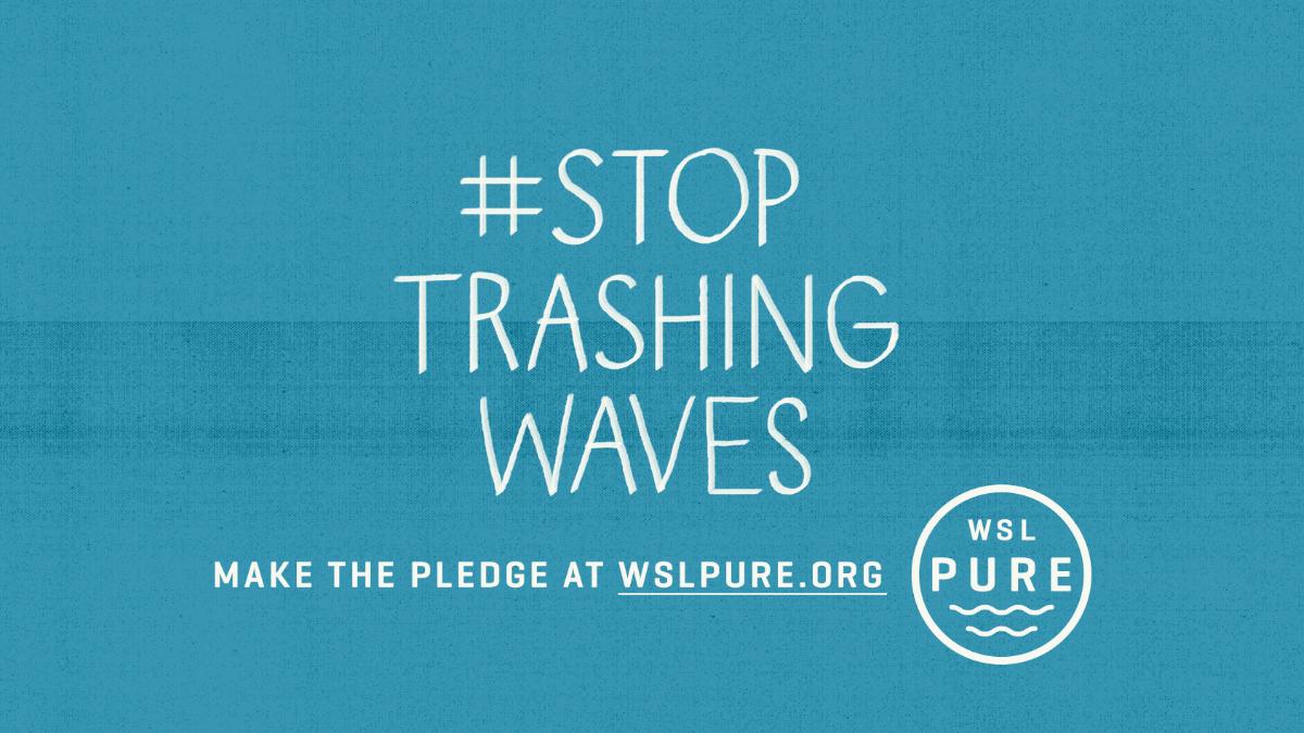 La World Surf League lanza WSL PURE para establecer nuevos estándares de protección al medio ambiente