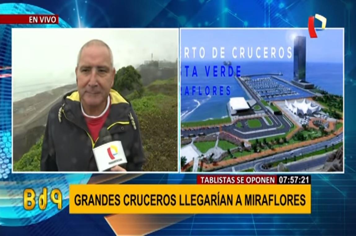 Niegan que proyecto de Bahía de Cruceros afecte la Costa Verde