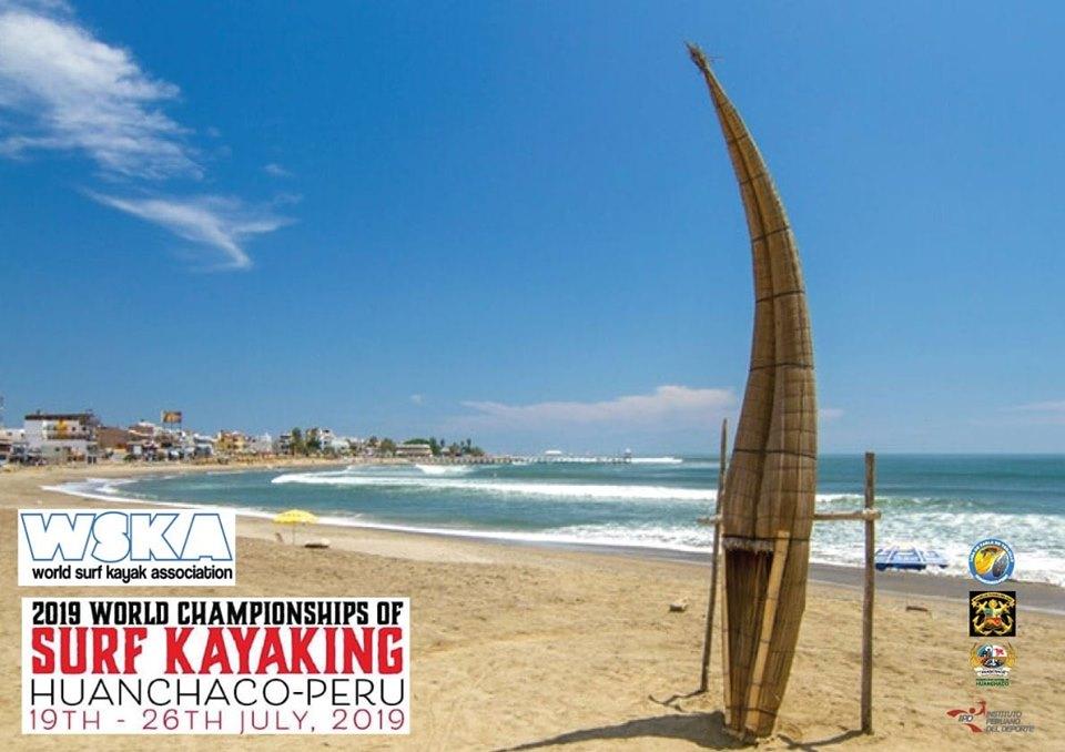 Mundial de Surf Kayak 2019 por primera vez en Perú